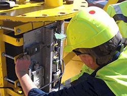 Satel udstyr for offshore målinger