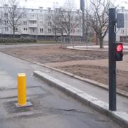 Bussluse med RFID longrange læser