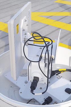 Mikrobølge link med tracking